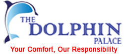 The Dolphin Palace Retina Logo