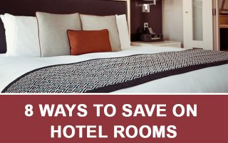 ways to save on hotel rooms